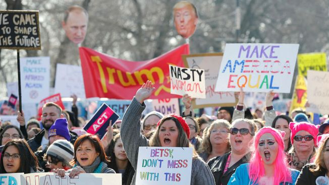 Illinois Democrats Join Women's Marches Across the Country