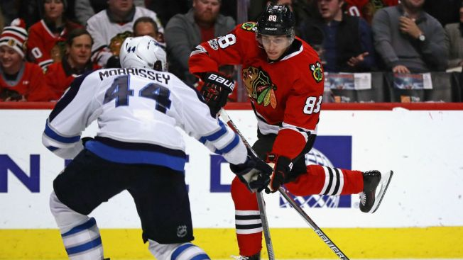 Blackhawks Looking to Improve Record vs. Playoff Teams As They Battle Jets