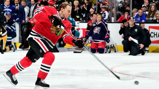 Blackhawks Star Patrick Kane Ranks as Best Shooter in NHL