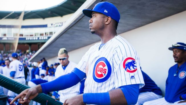 Cubs Send Down Jimenez, Cut Spring Roster to 43 Players