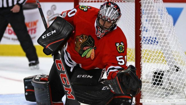 Corey Crawford, Girlfriend Kristy Welcome Baby Boy