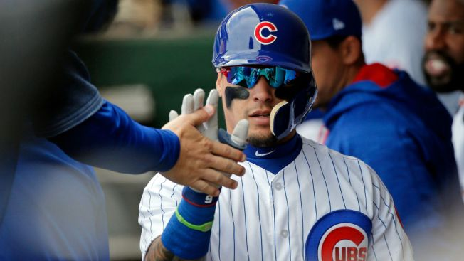 Javier Baez Unloads On Mammoth Grand Slam vs. Reds
