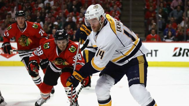 Chicago Blackhawks Make History in Shutout Loss vs. Predators