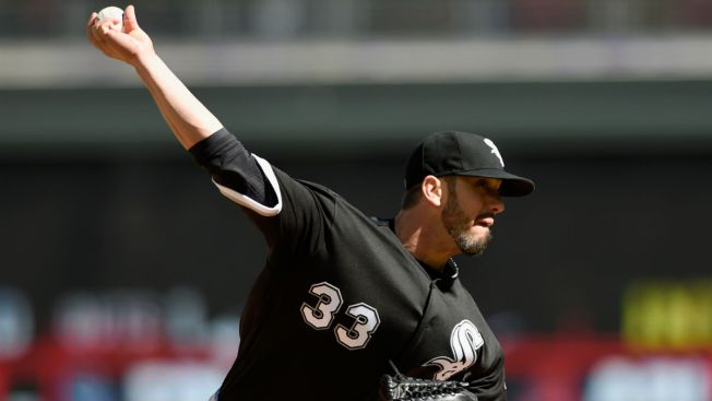 James Shields Struggles in White Sox Loss to Twins
