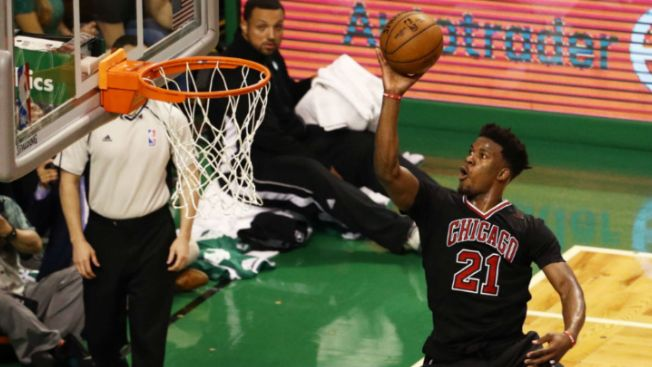 Dwyane Wade says the Bulls are fortunate to have a Jimmy Butler