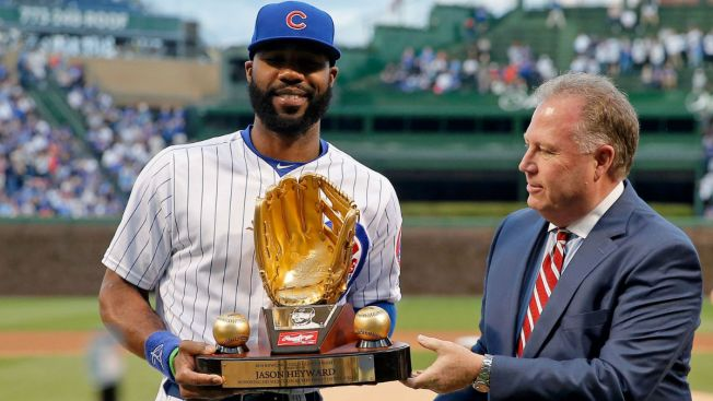 Jason Heyward Joins Exclusive Cubs Club With Gold Glove Win