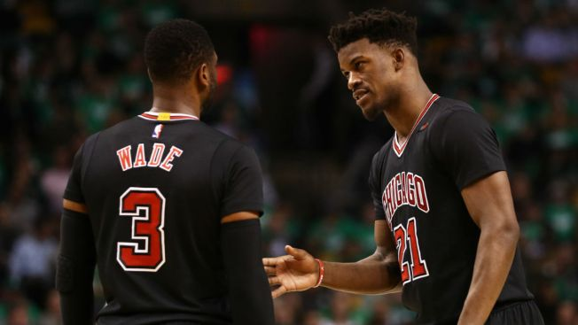 'Three Alphas' Held Meeting Before Bulls' Game 2 Win in Boston