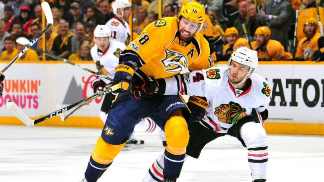 Blackhawks Swept by Predators, Eliminated From Playoffs