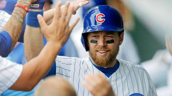 Cubs Infielder Ben Zobrist Placed on 10-Day Disabled List