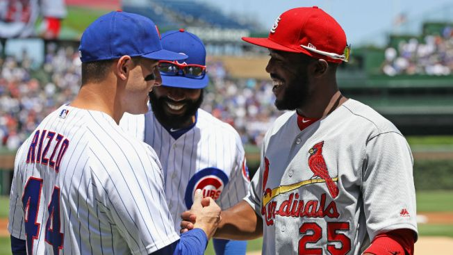 aebc20068 Dexter Fowler Receives World Series Ring From Cubs - NBC Chicago