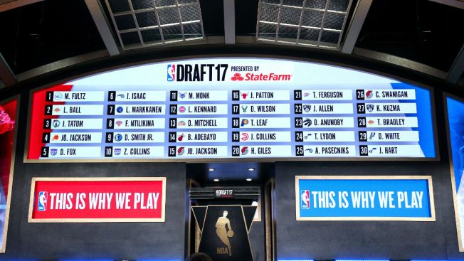 National Basketball Association announces 2018 draft lottery will be held in Chicago
