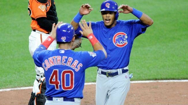 Addison Russell Powers Cubs to Win Over Orioles