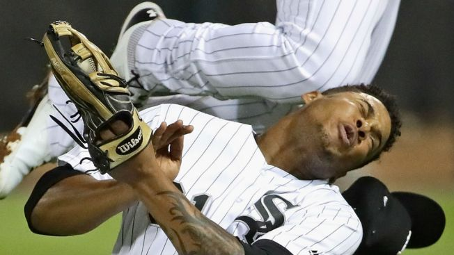 White Sox OF Willy Garcia to miss at least a month with fractured jaw