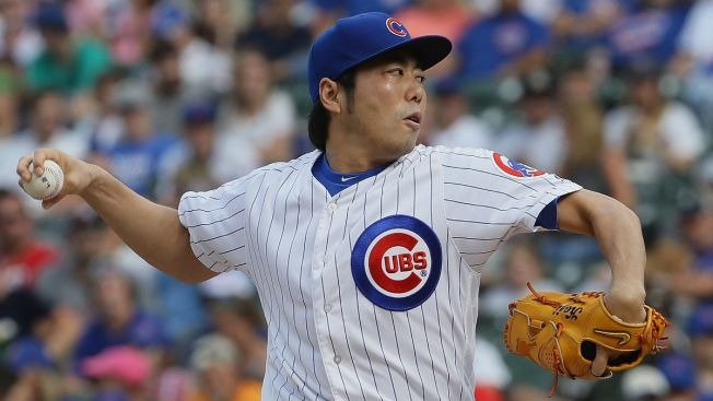 Cubs Place Koji Uehara on Disabled List With Strained Neck