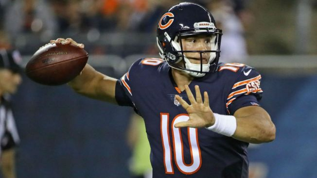 Mitchell Trubisky's Jersey Sales on the Rise, Retailer Says