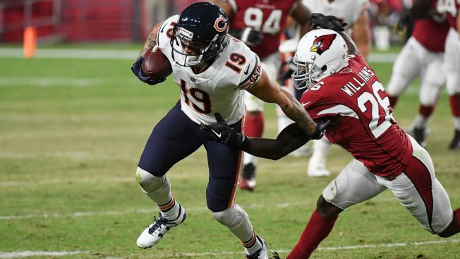 Bears add receiver Tanner Gentry to practice squad