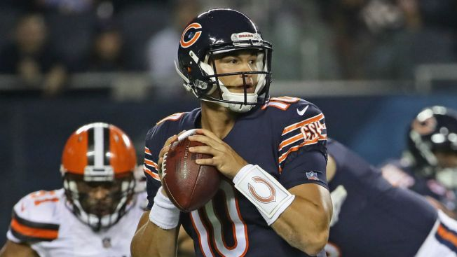 Trubisky to Open Season as Bears' No. 2 Quarterback