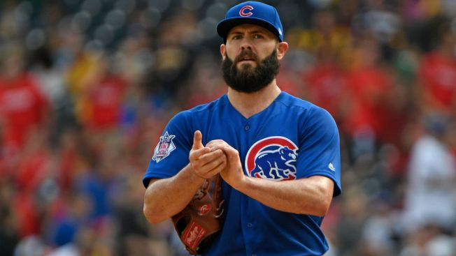 Jake Arrieta (hamstring) likely to return Thursday for Cubs