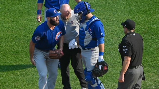 Hamstring Strain Puts Cubs' Jake Arrieta Out For 1-2 Starts