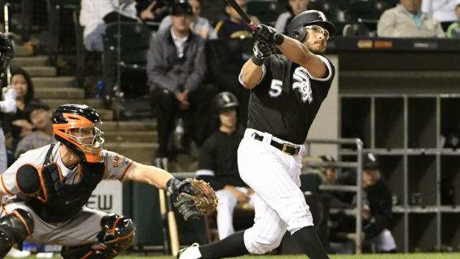Josh Abreu triples to complete the sixth cycle in White Sox history