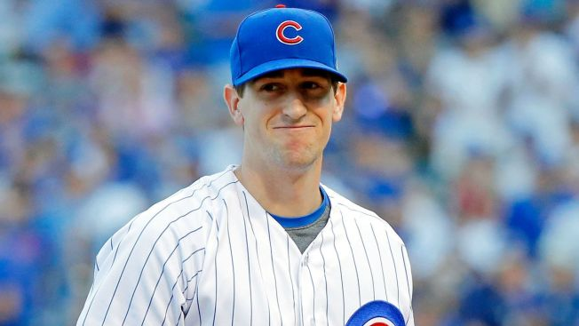 Teammates Party Hard at Kyle Hendricks' Wedding
