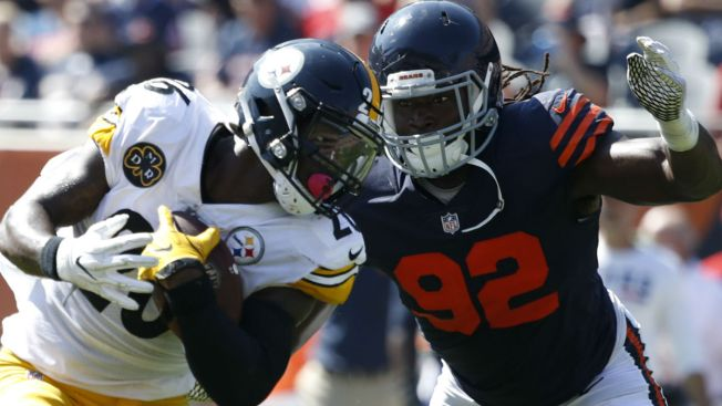 McPhee, Amos Miss Bears' Thursday Practice