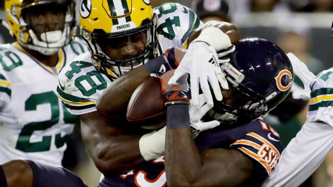 Packers Blow Out Bears 35-14 at Lambeau Field
