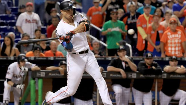 Does 'due diligence' mean Red Sox are in on Giancarlo Stanton?