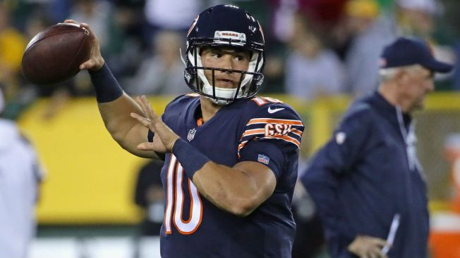 Mitchell Trubisky Set to Make Bears Debut Monday Night