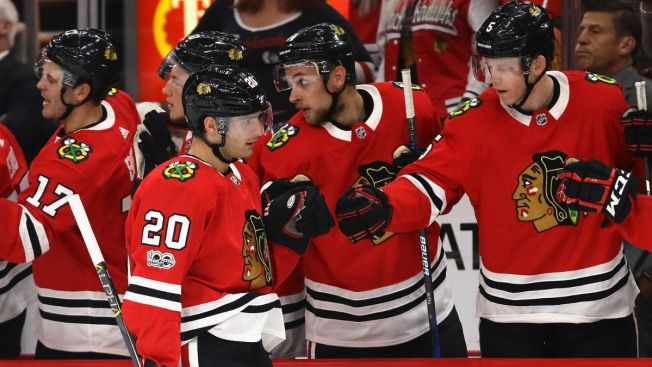 Brandon Saad Joins Exclusive Club With Opening Night Hat Trick