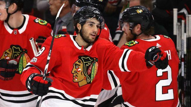 Nick Schmaltz Looking to Take Next Step With Chicago Blackhawks