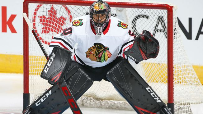 Blackhawks Activate Corey Crawford From Injured Reserve