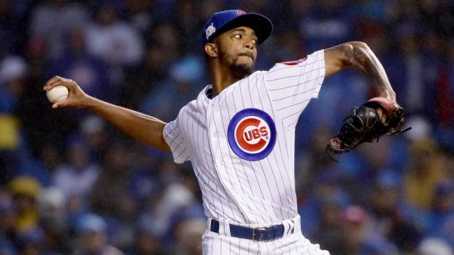 Carl Edwards Jr. Guarantees Cubs Will Win Game 5