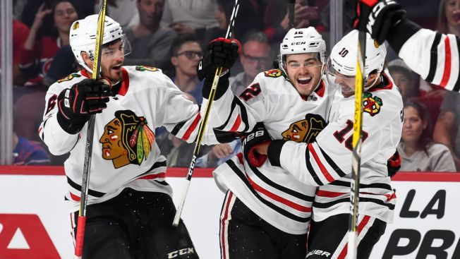Alex DeBrincat Steals the Show as Blackhawks Beat Hurricanes