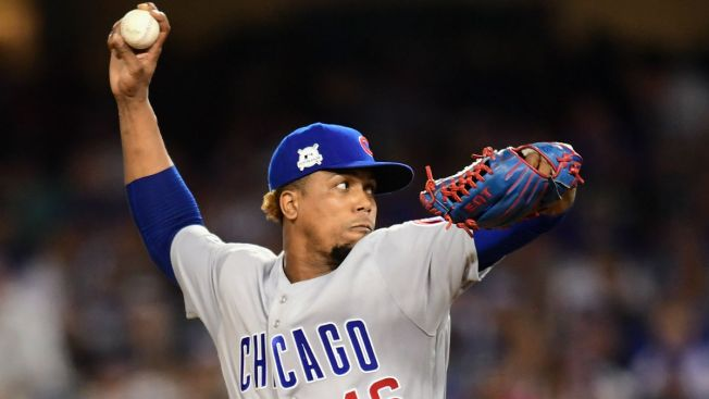 Chicago Cubs Hurler Pedro Strop Injured in Win Over Nationals