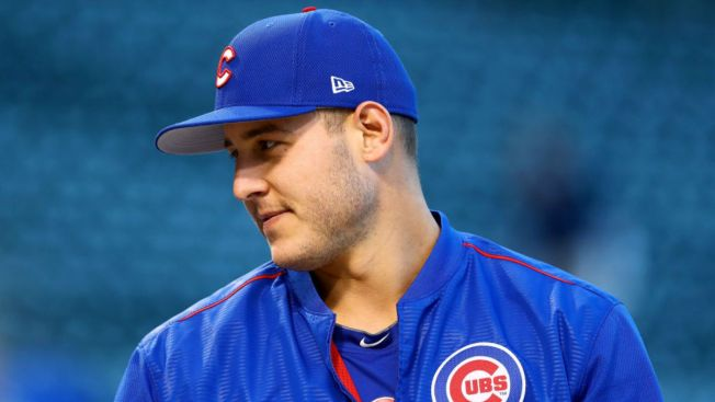 Cubs' Anthony Rizzo Wins Marvin Miller Man of the Year Award