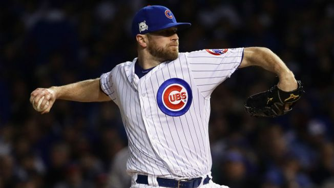 Arrieta, Davis Make Decisions on Cubs' Qualifying Offers: Report