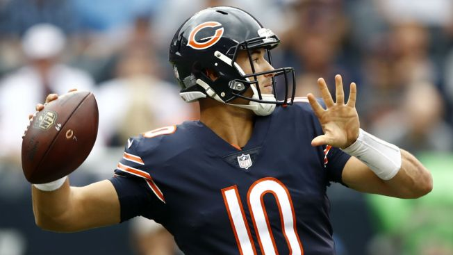 Mitchell Trubisky Joins Interesting Club With Win Over Panthers