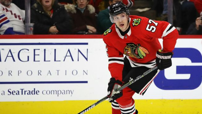 Wingels, Hinostroza Make History for Blackhawks