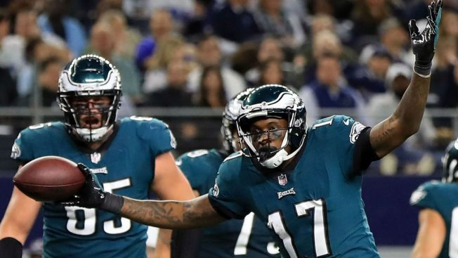 Alshon Jeffery Is Taking Flight As An Eagle