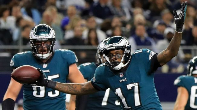 Eagles award WR Alshon Jeffery with big contract extension