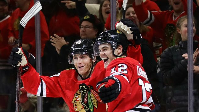 Alex DeBrincat Makes History for Blackhawks