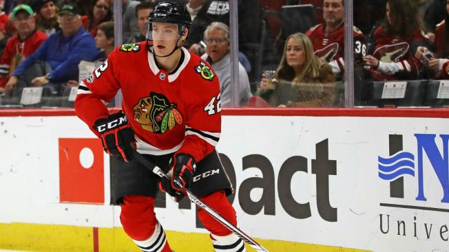 Gustav Forsling Sent Down, Anisimov Expected to be Activated by Blackhawks