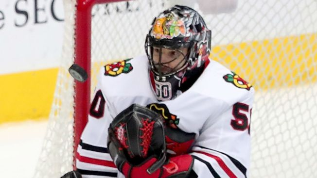Quenneville Provides Corey Crawford Injury Update