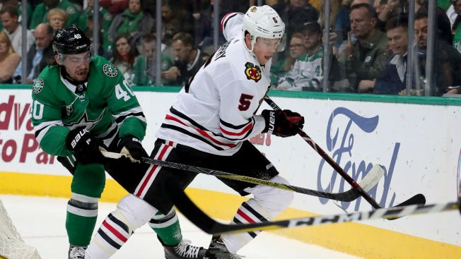 Connor Murphy, Brent Seabrook Out for Blackhawks as Camp Opens