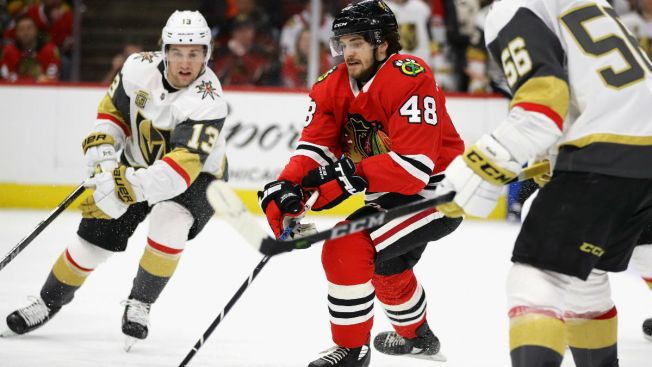 Smith, Golden Knights Knock Off Blackhawks