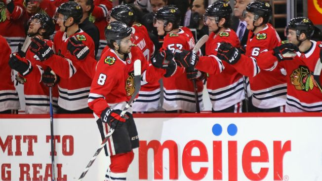 Schmaltz, Forsberg Lead Blackhawks Past Oilers