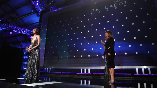 Gal Gadot accepts #SeeHer Award at Critics' Choice Awards