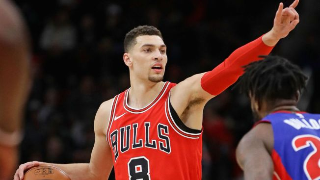 LaVine, Markkanen Power Bulls to Win Over Pistons