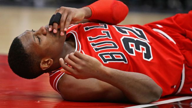Bulls point guard Kris Dunn has been diagnosed with a concussion